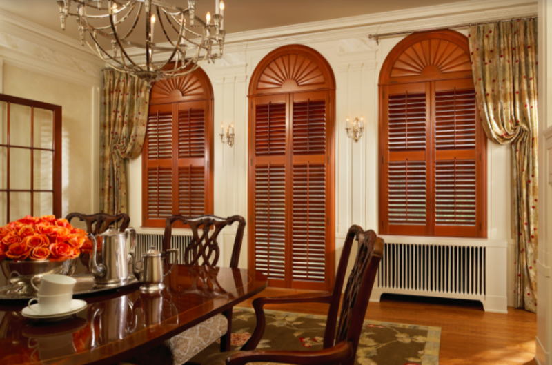 Shutters are made custom to each individual window. With numerous styles to choose from, these are the ultimate window covering to improve the value of your home.